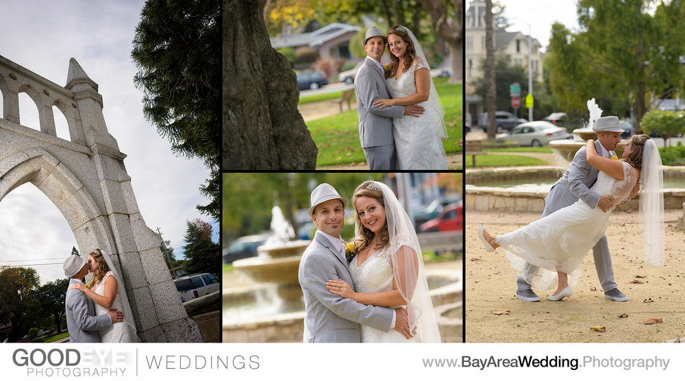 Holy Cross Santa Cruz Wedding Photography - Diana and Zoltan - P