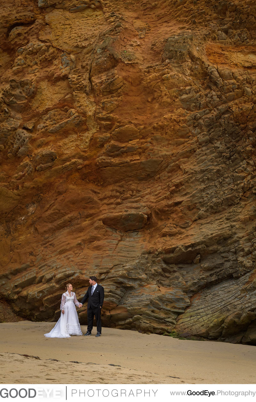 Panther Beach Santa Cruz Wedding Photos - Bride and Groom - bridal portraits