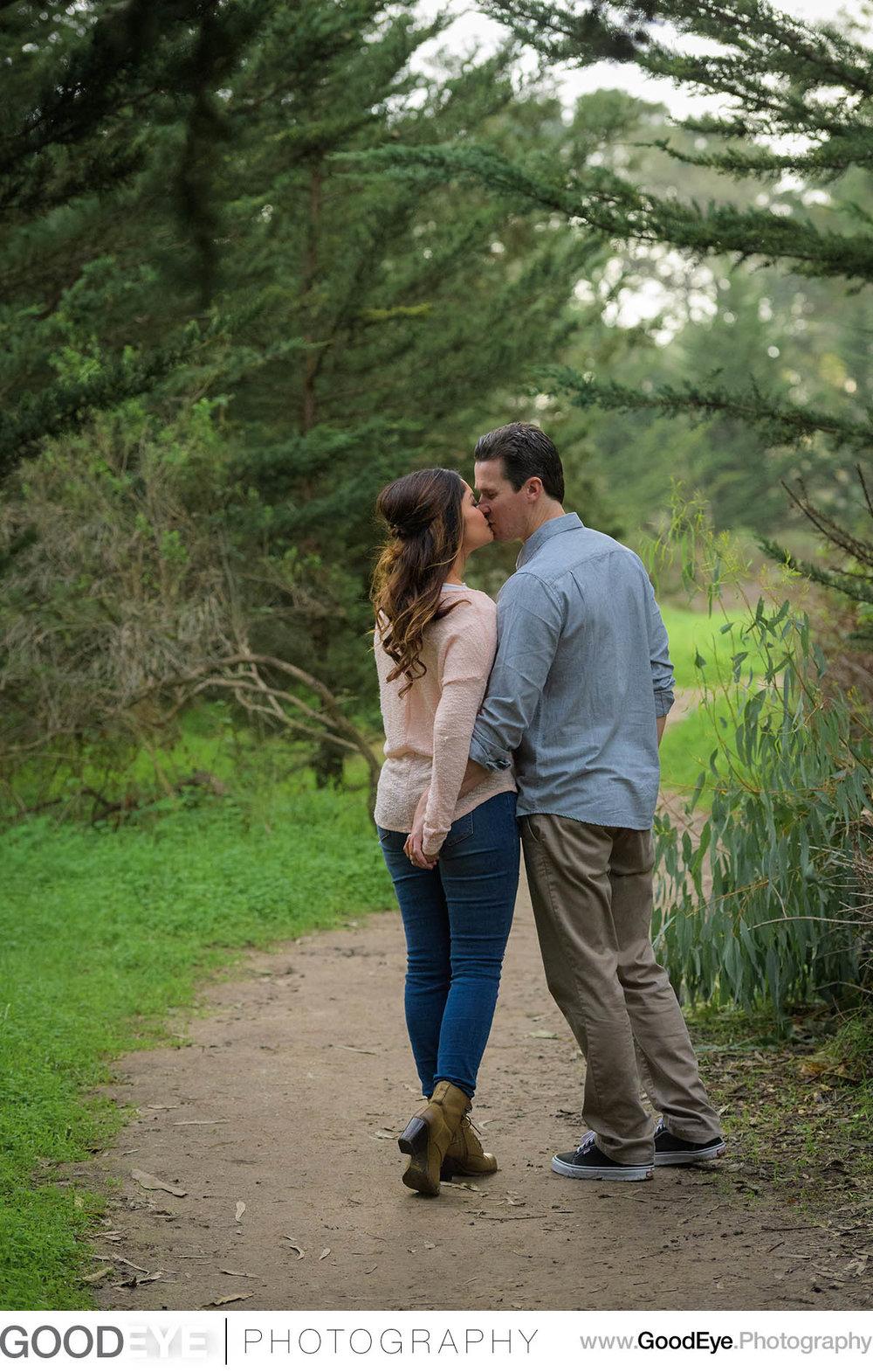 Natural Bridges Santa Cruz Engagement Photography - by Bay Area