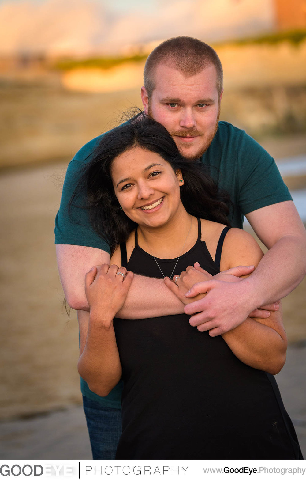 Lighthouse Field Santa Cruz engagement photos; by Bay Area weddi