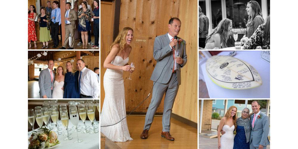 La Selva Beach Clubhouse Wedding - Karen and Todd - photos by Ba