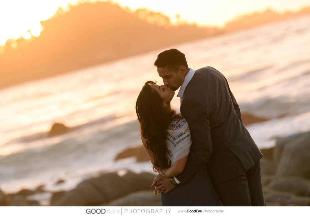 Carmel Beach Engagement Photos, by Bay Area wedding photographer