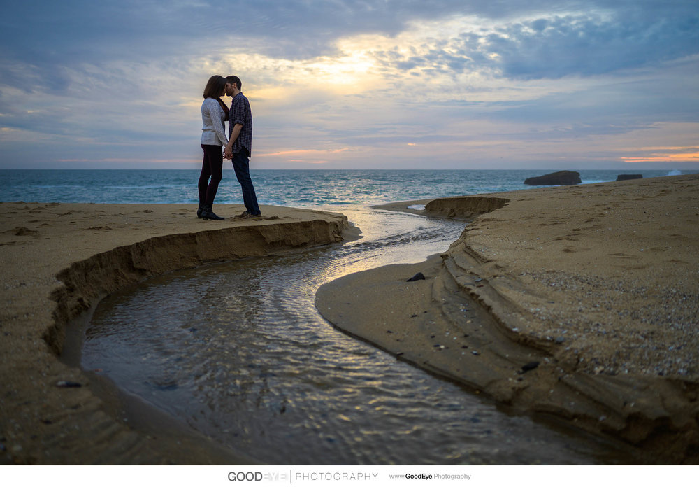 Panther Beach Santa Cruz Engagement - by Bay Area wedding photog
