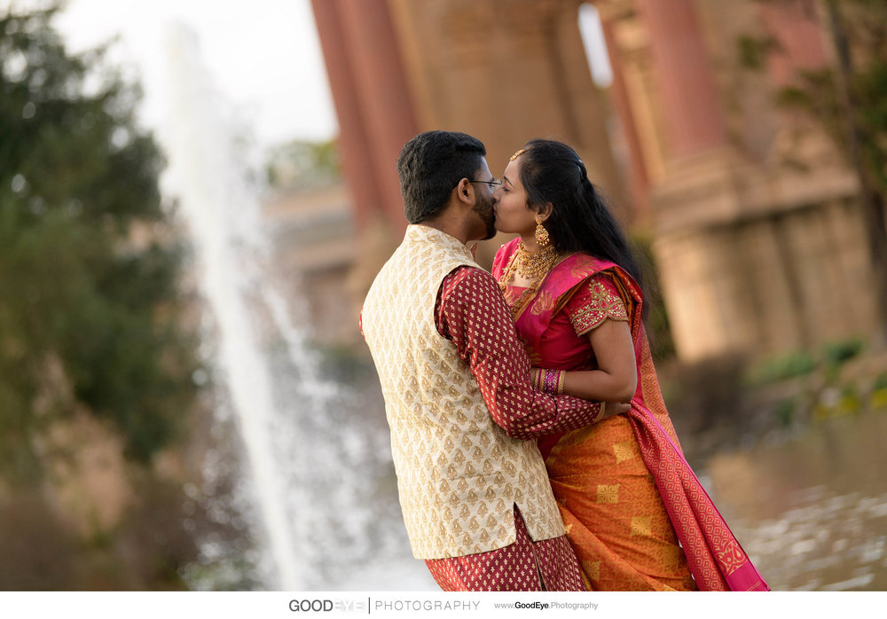 Palace of Fine Arts and Baker Beach Engagement Photos - by Bay A
