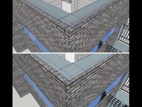Inhomogeneous thermal insulation structure design.