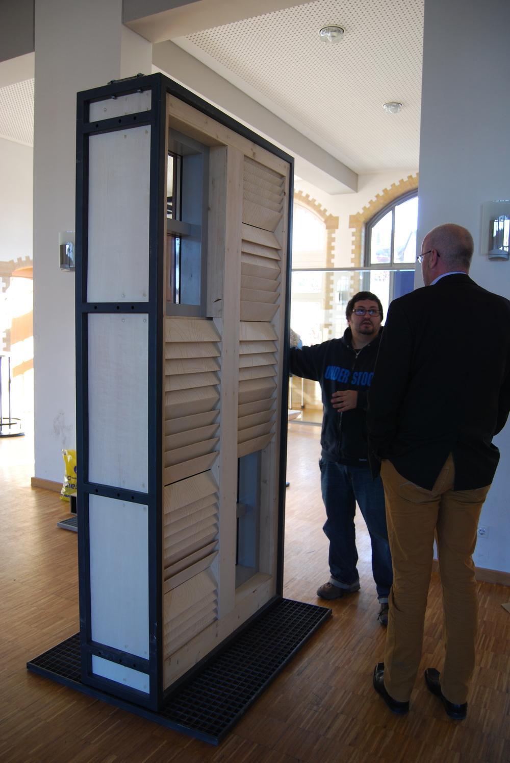Noise Reduction + Light Quality | Mockup 01 Back ©Delft University of Technology, Ostwestfalen-Lippe University