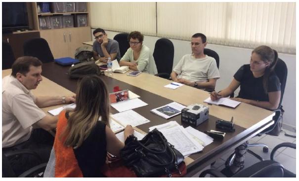 Meeting with Prof. Mierzwa (photo: Artur Cordeiro)