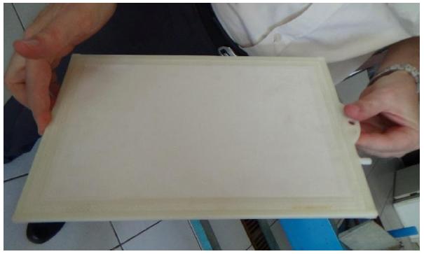 Flat board membrane (photo: Lara Barbosa)