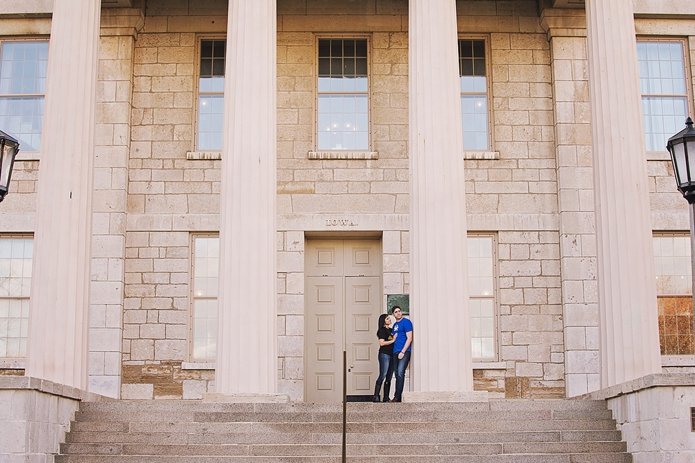 Waterloo engagement photography | Iowa City engagement photographer