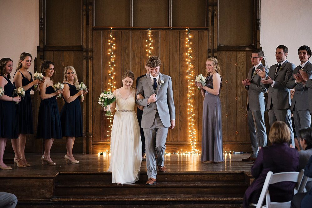 Downtown Iowa City Wedding at the Old brick church