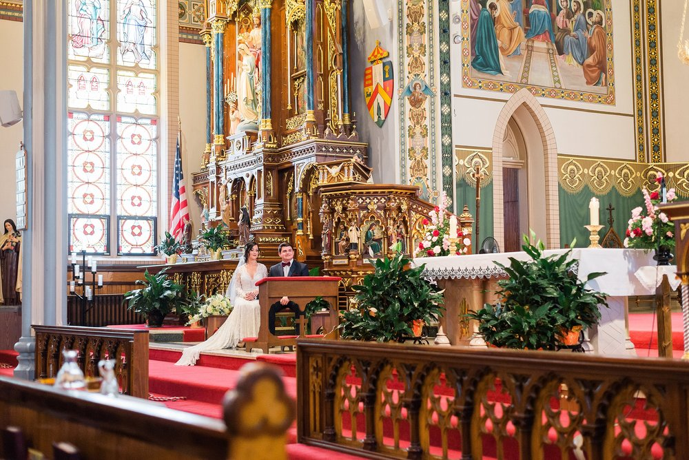 Saint Francis Catholic Church Iowa Wedding