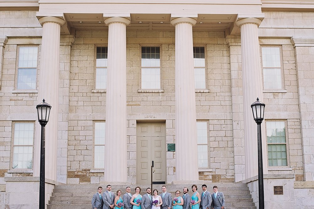 Downtown Iowa City Wedding Photographer