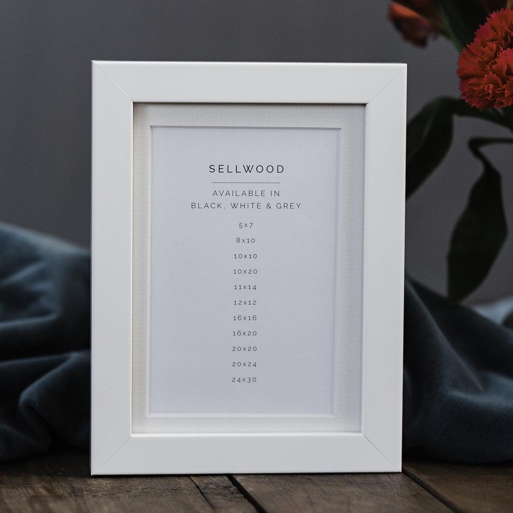White Sellwood Frame
