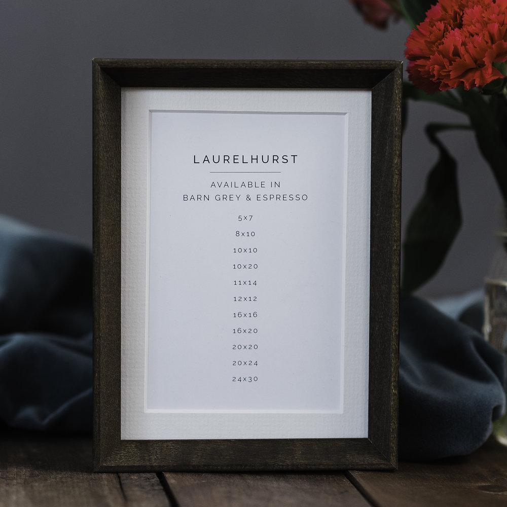 Dark Wood Laurelhurst Frame