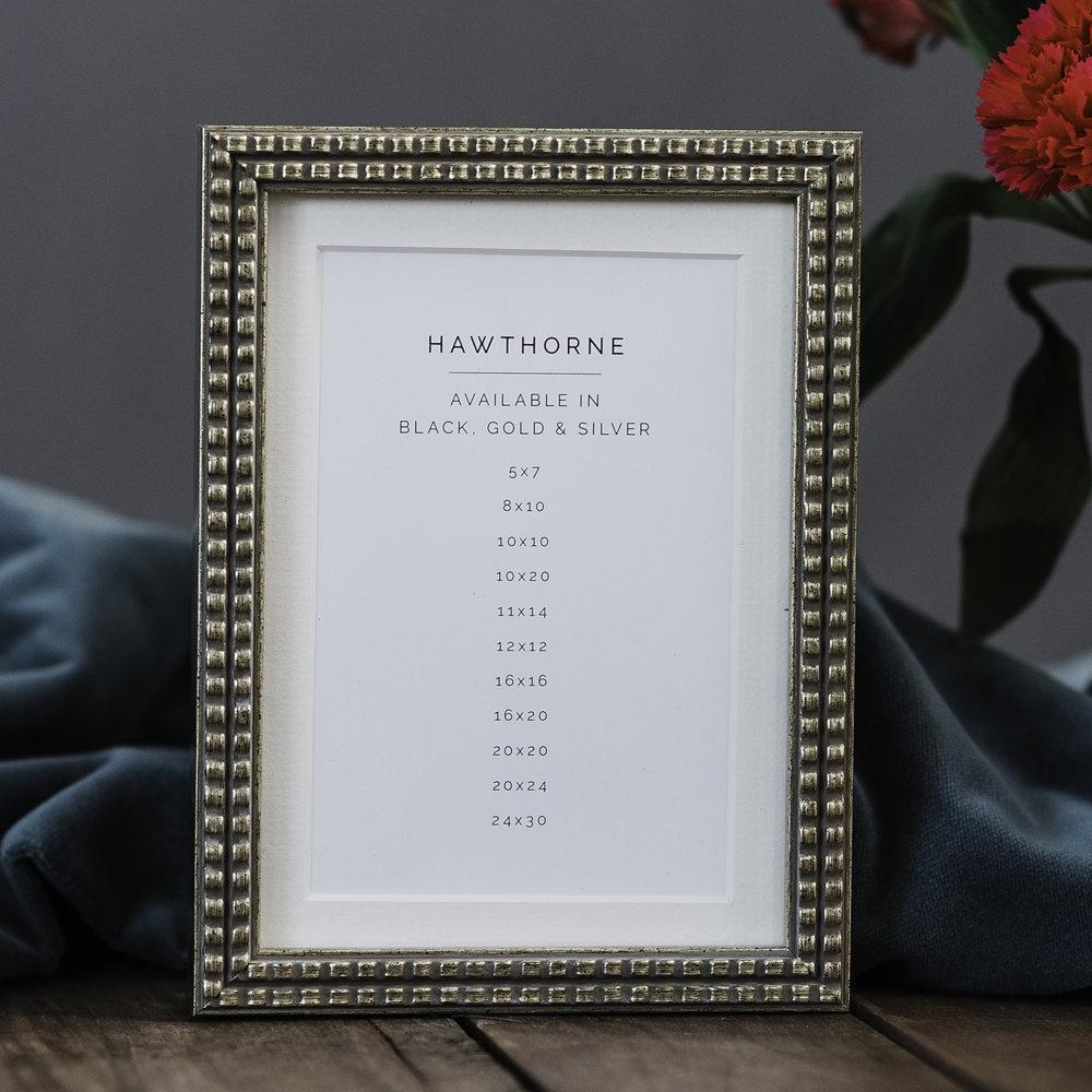 Silver Hawthorne Frame