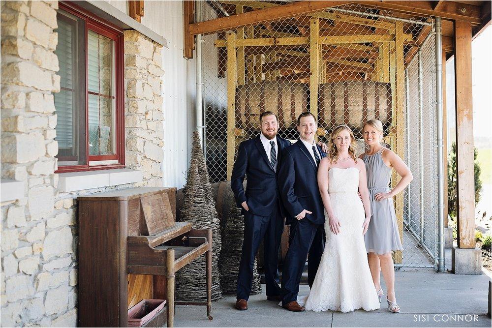 Wedding at Cedar Ridge Winery and DistilleryWedding at Cedar Ridge Winery and Distillery