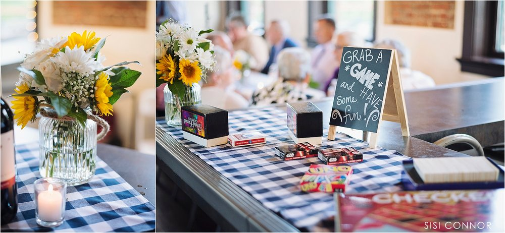 Old Freight House Dubuque wedding reception