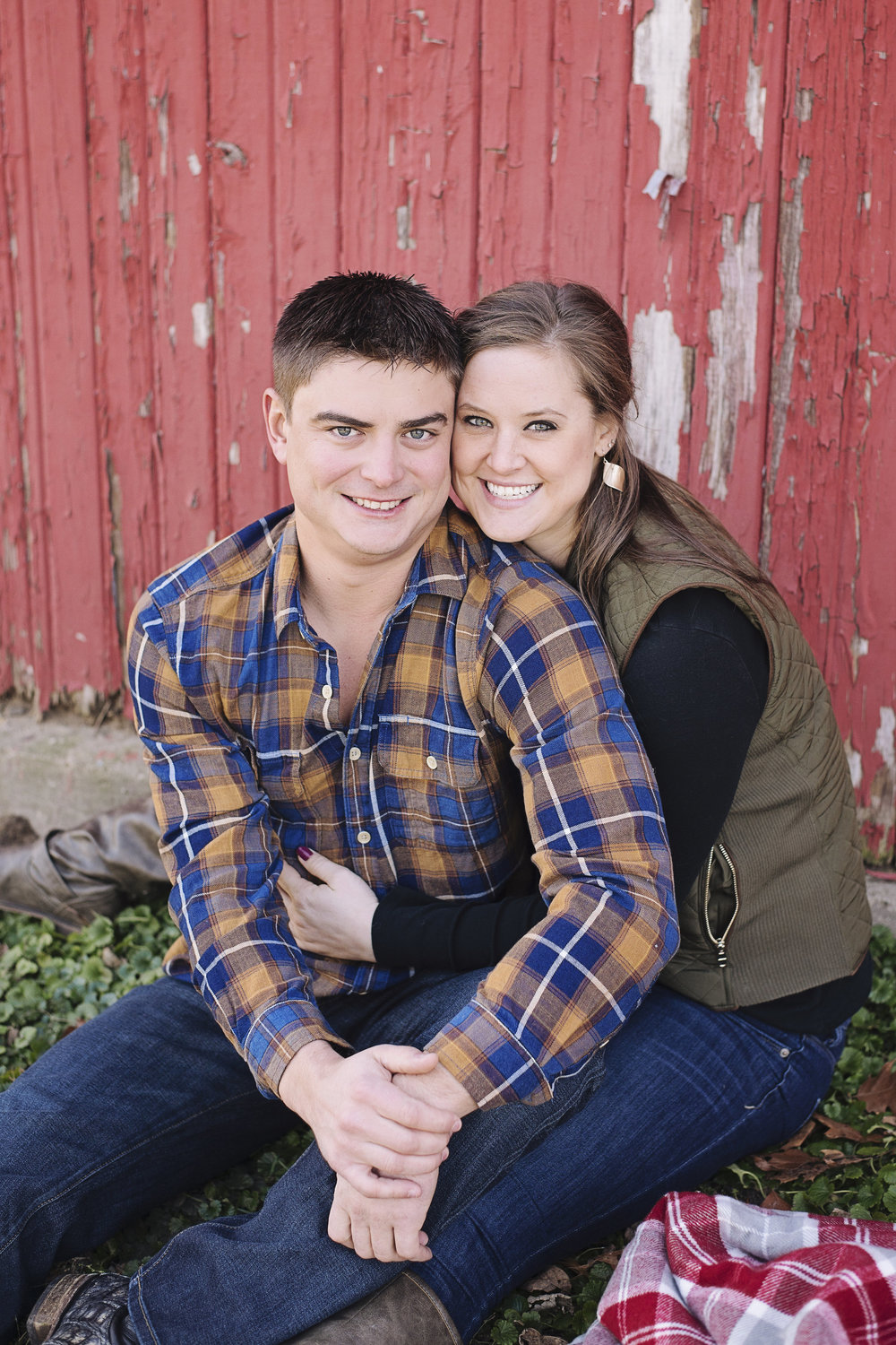 Seminole Valley Farm Engagement Session | Iowa Wedding Photographer
