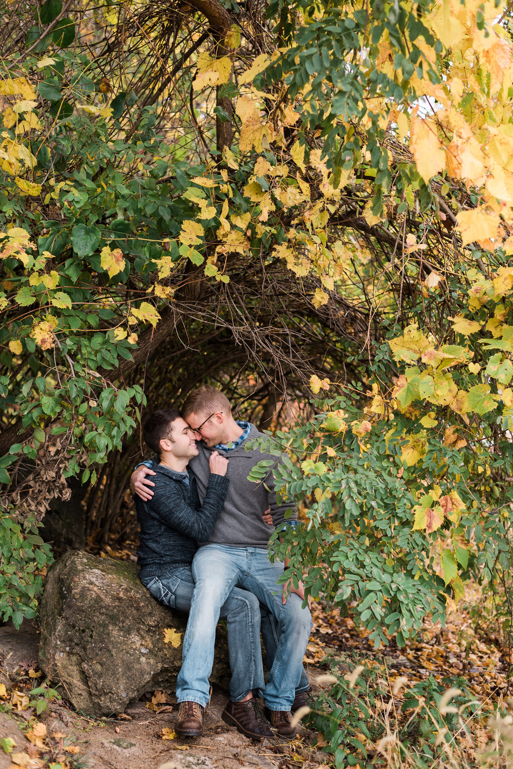 Palisades-Kepler State Park Engagement Session