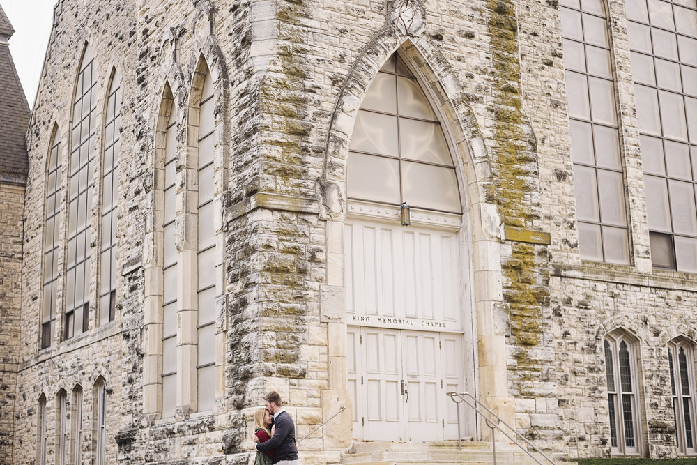 Cornell College Engagement | Iowa Wedding Photographer