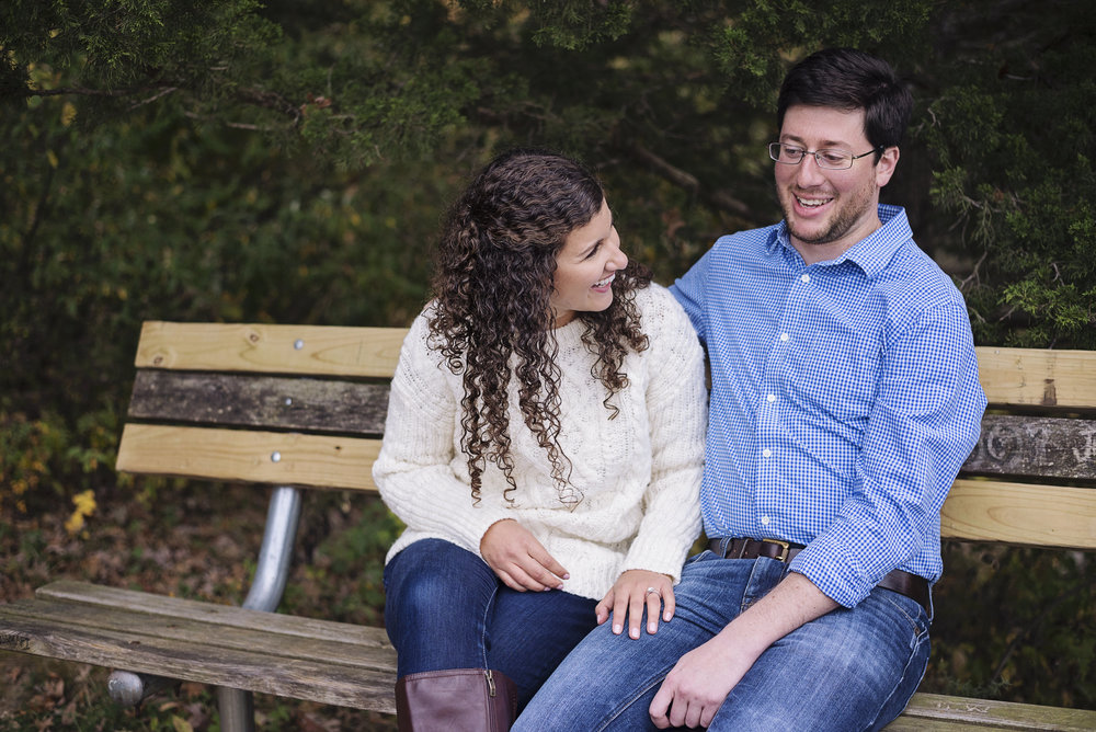 Coralville Reservoir Engagement | Iowa City Photographer
