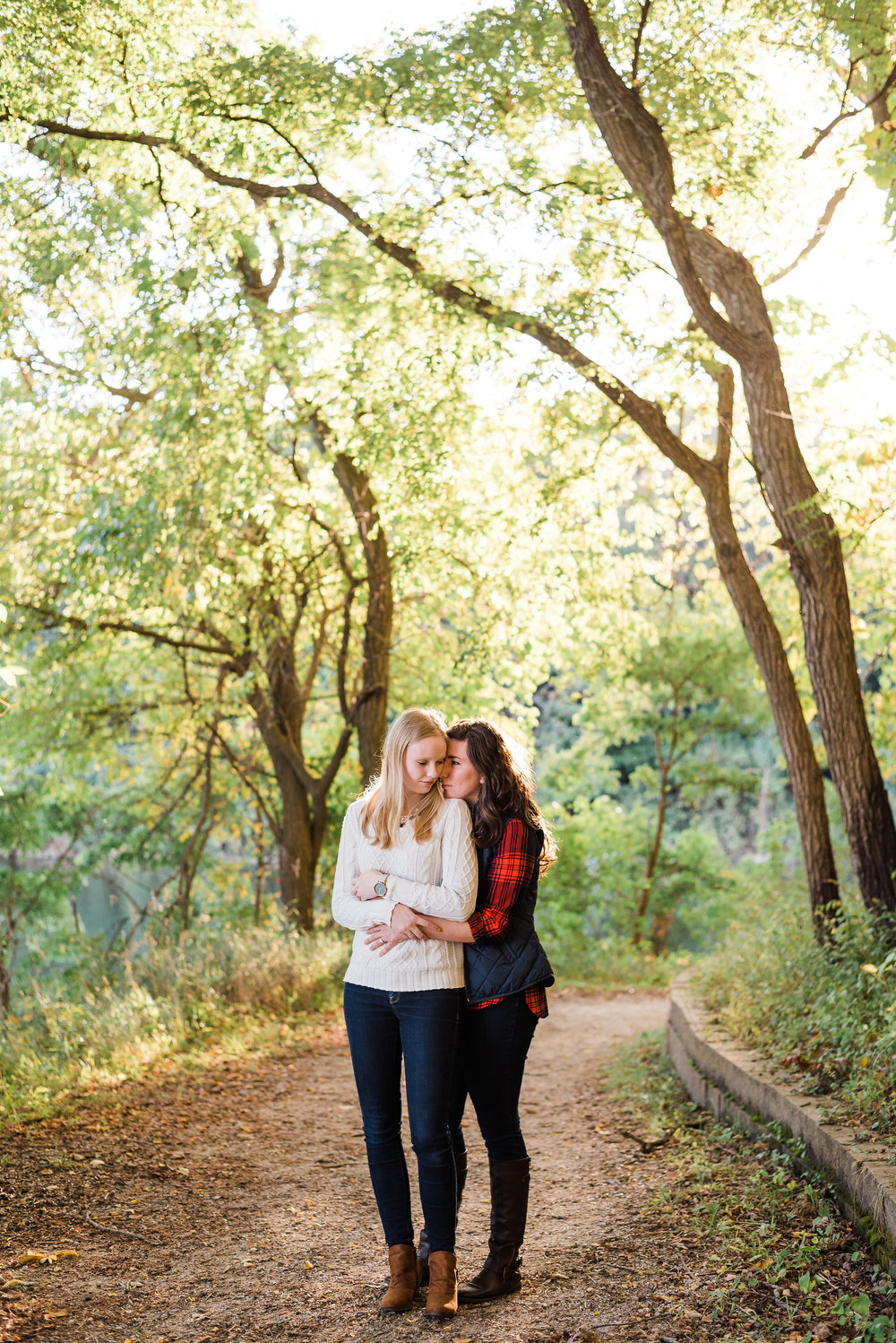 Macbride Lake State Park Engagement Session | Iowa City Wedding Photographer