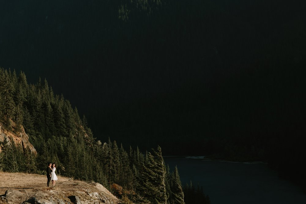 Allison & Joe / Diablo Lake