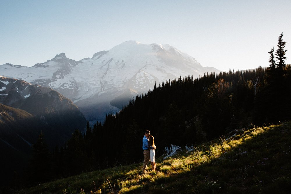 Jas & Duri / Mt Rainier