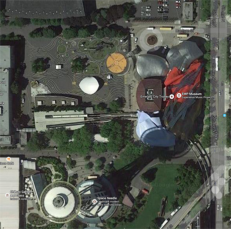 EMP at Seattle Center map