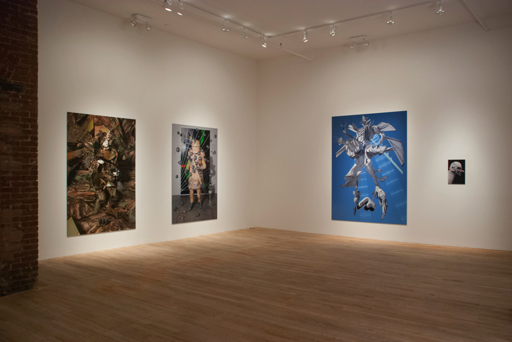 Shamus Clisset, Space God / Magic Guy, installation view at Postmasters Gallery