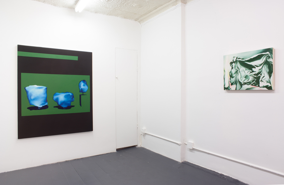 Installation from  Ramping at the Bit  at Chapter NY. Image from artist website.