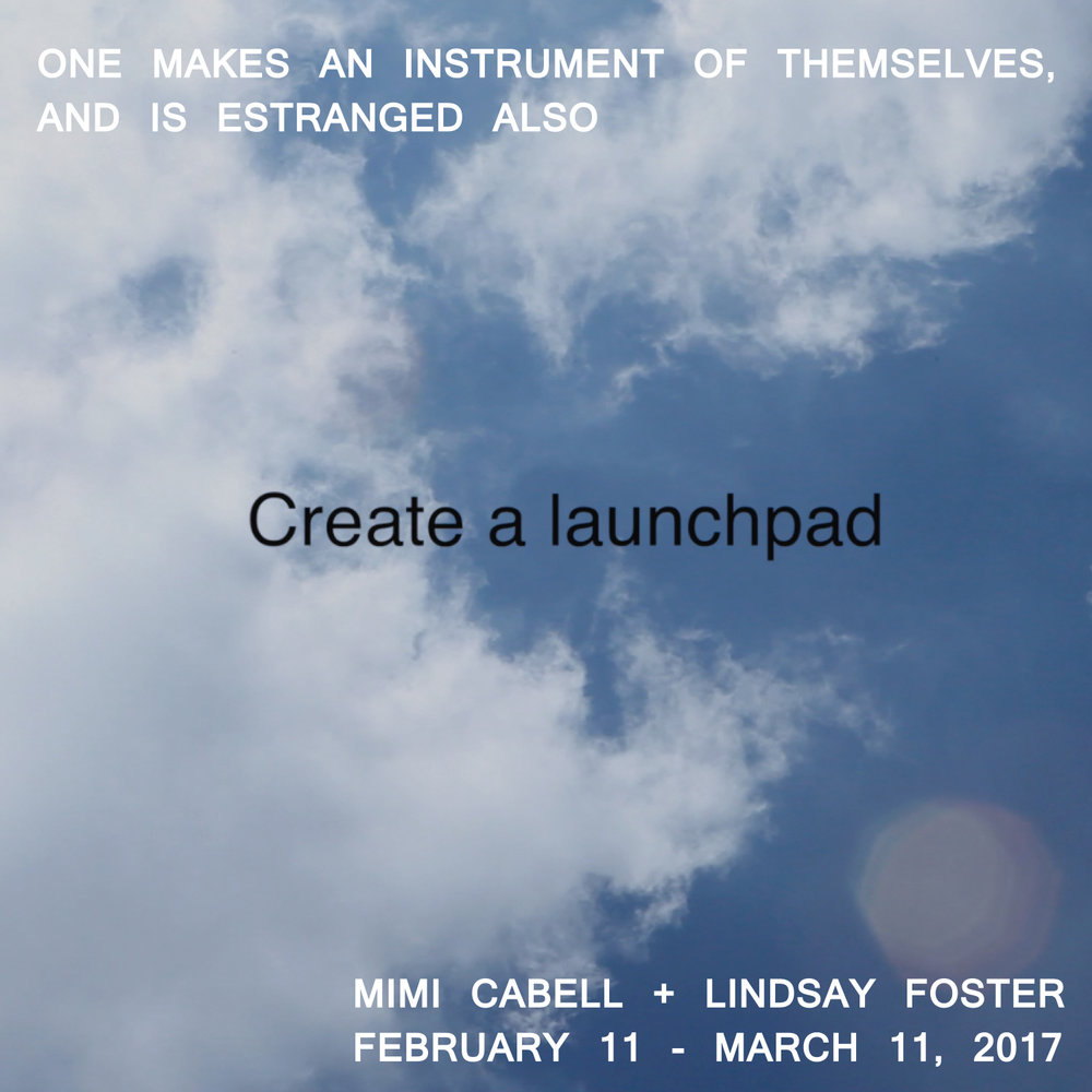One Makes an Instrument of Themselves, and is Estranged Also