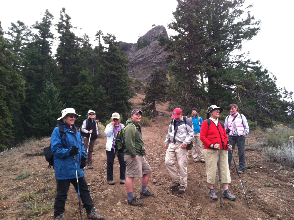 NEW TRAIL TO PILOT ROCK created by Siskiyou Mountain Club! TPD 2013 Photo