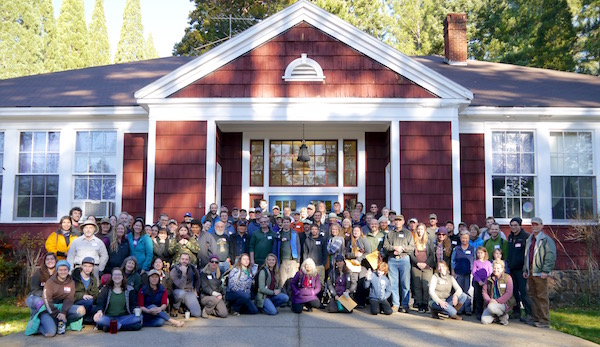 BioBlitz 2016 Fungi:  Mycologists and 100 citizen-scientists and volunteers, meet at Pinehurst School.        T Dickey photo