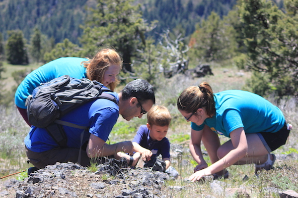 BioBlitz 2017 participants of all ages got hands-on and close to nature. Katy Horman photo