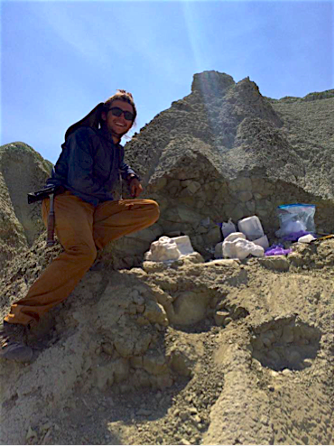Dylan Carlini, SOU geology undergraduate.