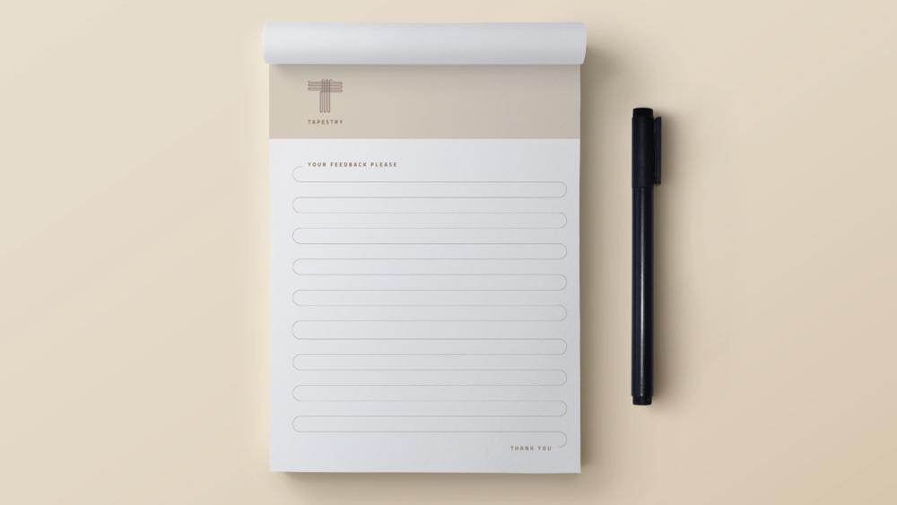 tapestry-logo-feedback-form-design