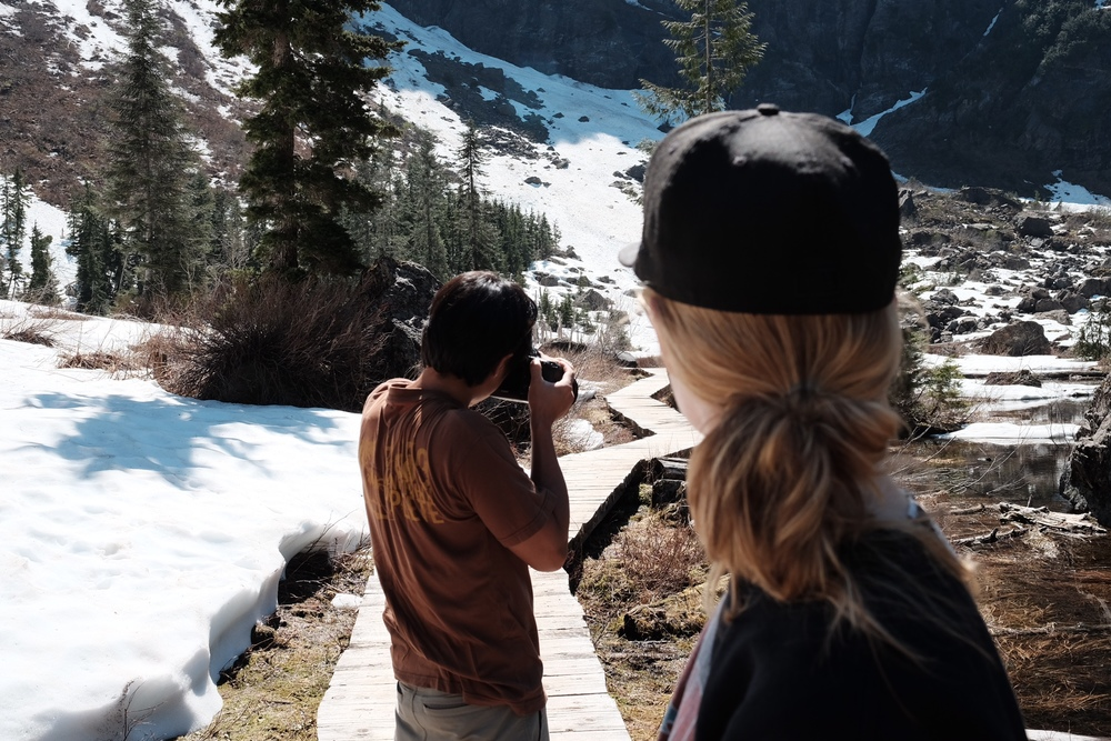 Hiking and photo adventures with  Dustin Wong .