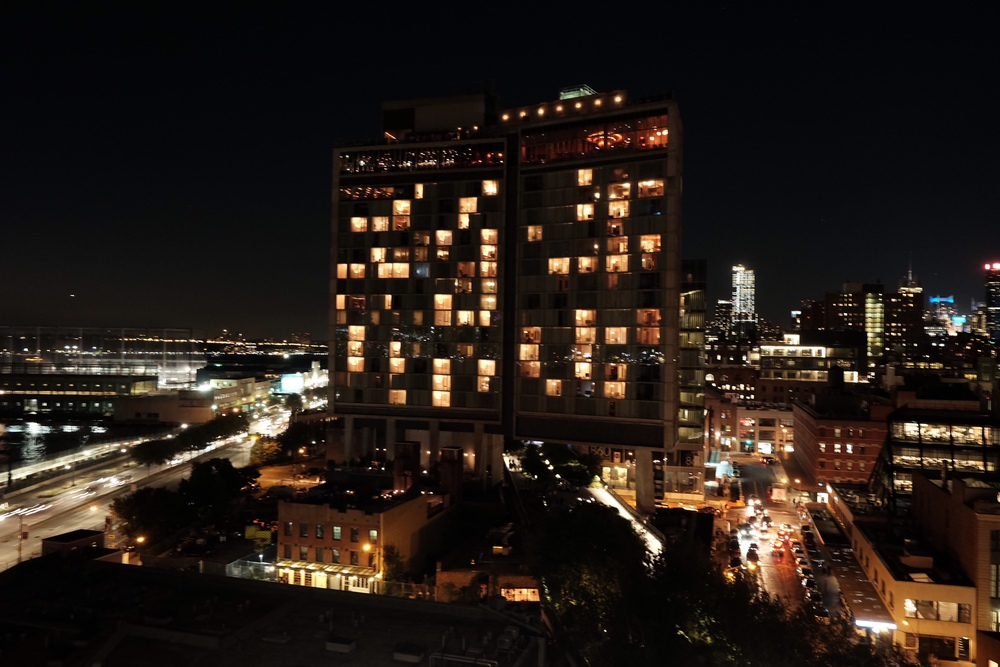 The High Line & Standard Hotel,  photo by  Bibhu Mainali .