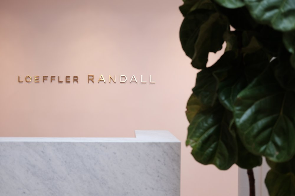 Reception at  Loeffler Randall.