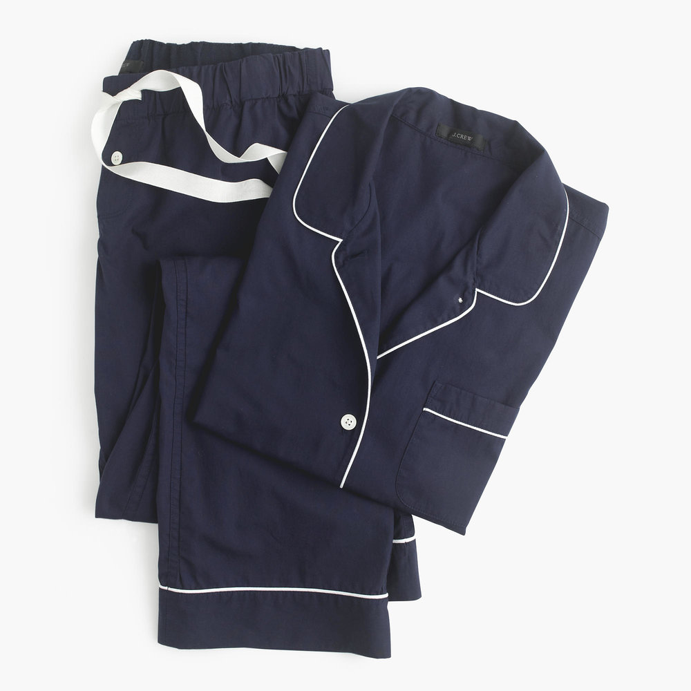 J.Crew  Vintage Pajama Set,  Hint: Wear the shirt solo.