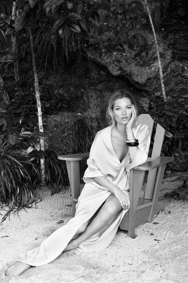 Kate Moss for Harper's Bazaar June 2012.