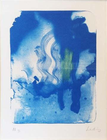 Reflections V, Helen Frankenthaler, 1995.
