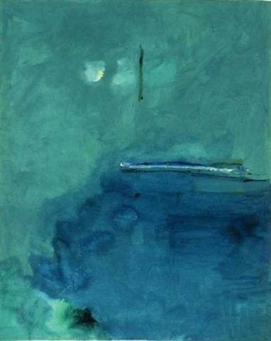 Contentment Island, Helen Frankenthaler, 2004.