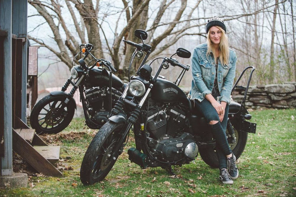 Leslie Padoll.  Image via The Moto Lady.