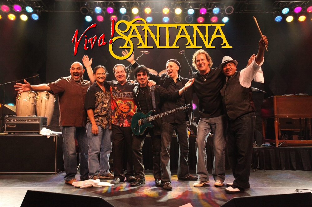 """""""Viva! Santana""""  - A sonic statement that rocks from start to finish. A promise from the band to each individual that they will get what they came for: a huge helping of sound that is packed with energy and conviction. Each player loves what he is doing and it shows every time.  In an era with so many tribute bands, why one more band called Viva? The answer is simple. Because it is done right. Viva is the original Santana tribute act originating in 1990 in Southern California. The music of Santana has inspired each player to pour heart and soul into every performance and become a link to the master himself.Carlos Santana and his innovative sounds have finally reached the forefront of rock where they belong. The Latin groove is paving its own way with driving rhythym and sultry beats. See for yourself why many have gone away satisfied. Become a believer and experience the soulful sound called Viva.   Viva! Santana  is: Arnie Vilches - Guitar, Vocals,  Thomas Alan Connor - Vocals, Percussion,  Pasquale Buono - Congas, Voclas,  Stan 'Tawny' Gonzales - Keyboards, Vocals,  Roy Tamanaha - Drums,  Mike Manglicmot - Timbales, Vocals and  Carlos Arias - Bass."""