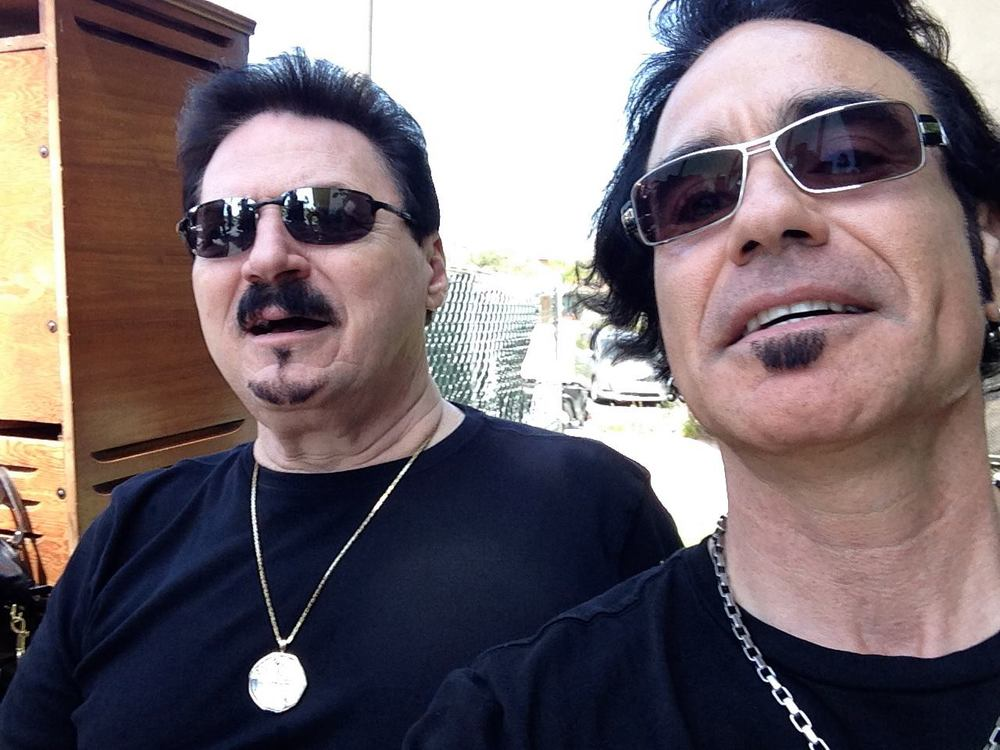 Bobby Kimball and Arnie