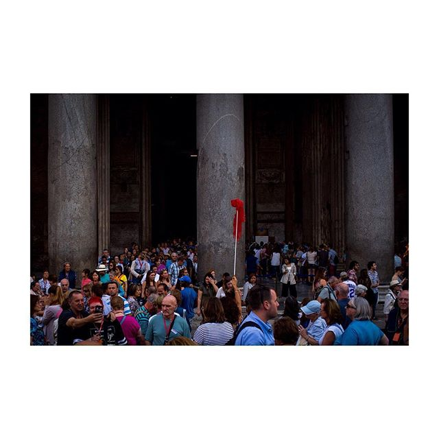ROMA #35mm #street #tourists
