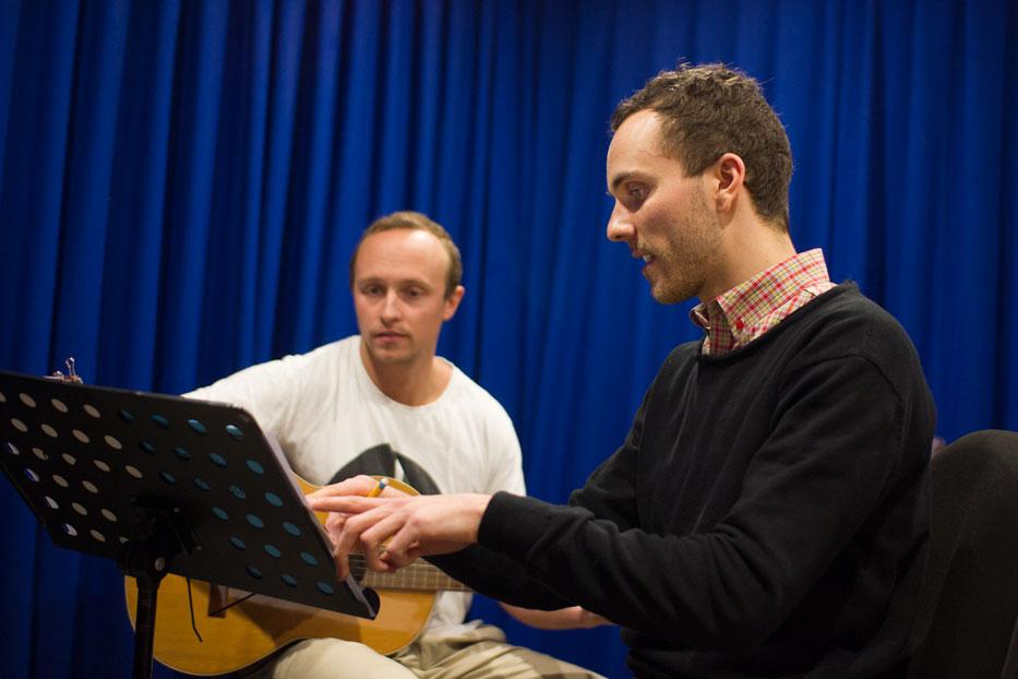 ADRIAN, JACK AND MICHAEL: RMA'S GUITAR TEACHERS