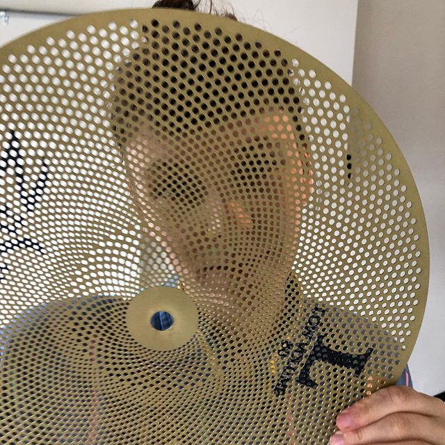 SILENT CYMBALS? Well, not quite silent, but a lot quieter! We were lucky enough to pick a few of these @zildjiancompany L80 cymbals last week. Probably a good investment for the apartment dwelling drummer. #richmondmusicacademy #richmond3121 #zildjiancymbals #drumlessonsmelbourne